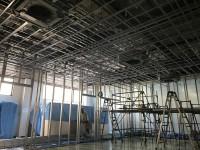 地元大手企業様の改装工事をさせていただいております。